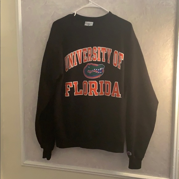 zawsze popularny Wielka wyprzedaż moda designerska Florida Gators Champion Crewneck Sweatshirt Medium